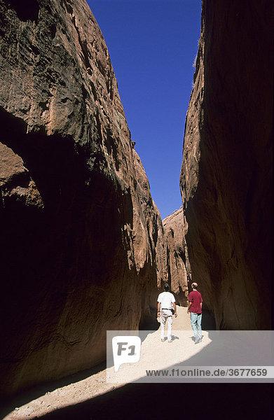 USA Utah Grand Staircase Escalante National Monument - Dry Fork Slot Canyon
