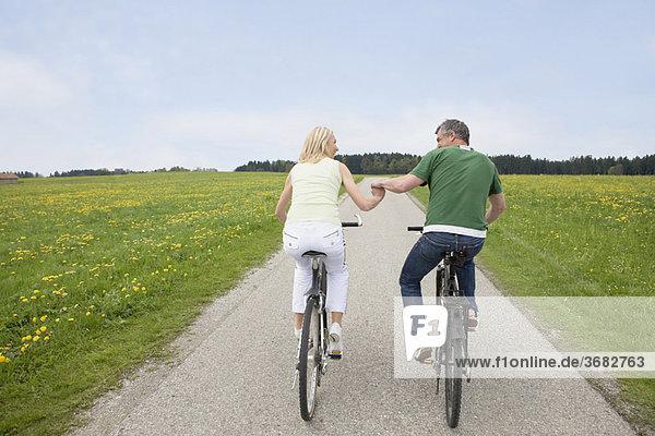 Paar Fahrräder