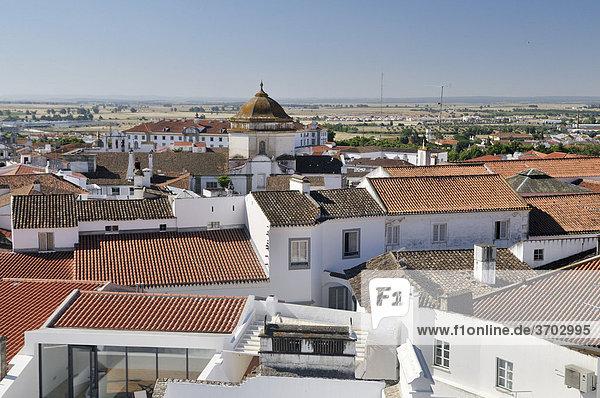 Evora  UNESCO World Heritage Site  Alentejo  Portugal  Europe