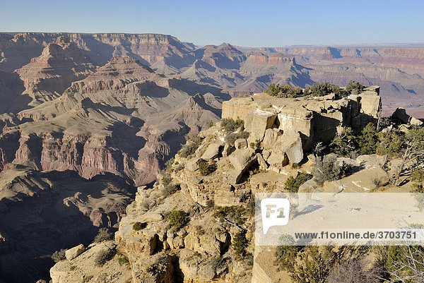 Blick vom Moran Point  Grand Canyon National Park  Arizona  USA