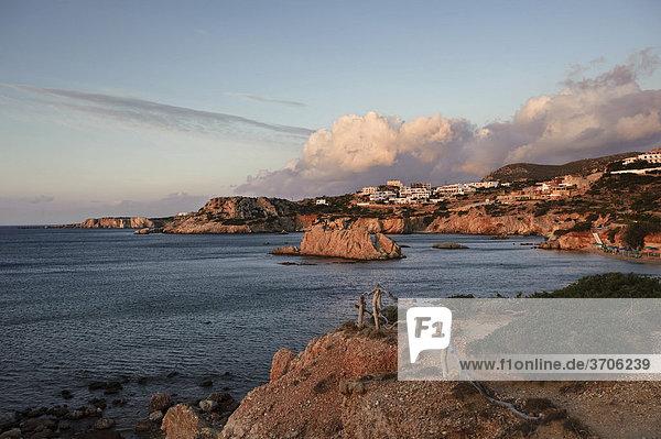 Amopi frühmorgens  Insel Karpathos  Ägäische Inseln  Ägäis  Dodekanes  Griechenland  Europa