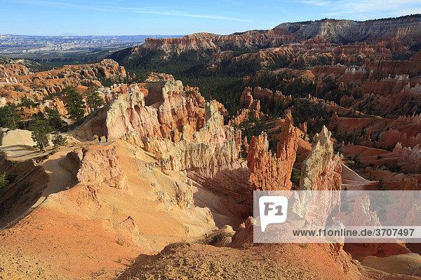 Blick in den Bryce Canyon  Utah  USA  Nordamerika