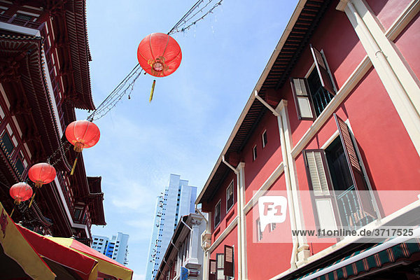 Tempelstraße in China Stadt  Singapur