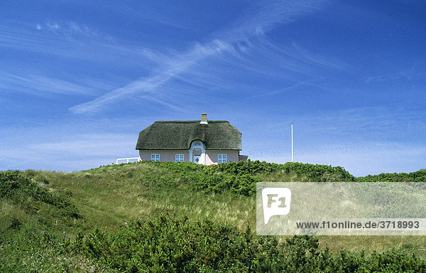 Old holidy house  Vejers Beach  Denmark