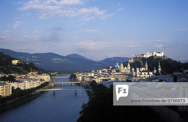 Salzburg - Salzach River - Austria