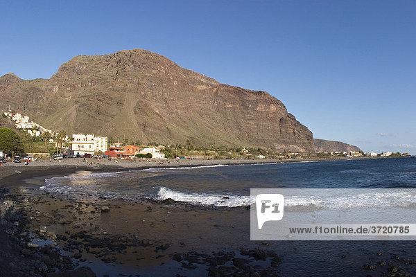Strand Playa de Valle Gran Rey - La Gomera