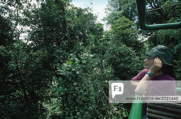 Regenwald-Seilbahn von D Perry - rainforest aerial tram Costa Rica