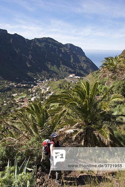 Valle Gran Rey La Gomera Kanaren