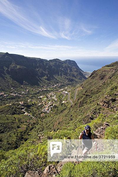 Valle Gran Rey La Gomera Canary Islands