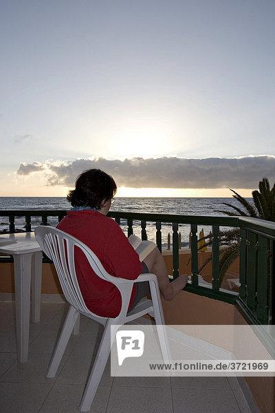 Apartmentanlage Tres Palmera in La Playa Valle Gran Rey La Gomera Kanaren