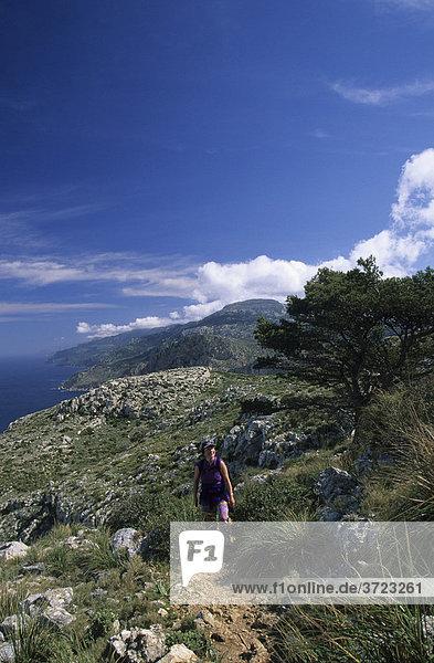 Mallorca Serra de Tramuntana - ses Basses Wanderweg
