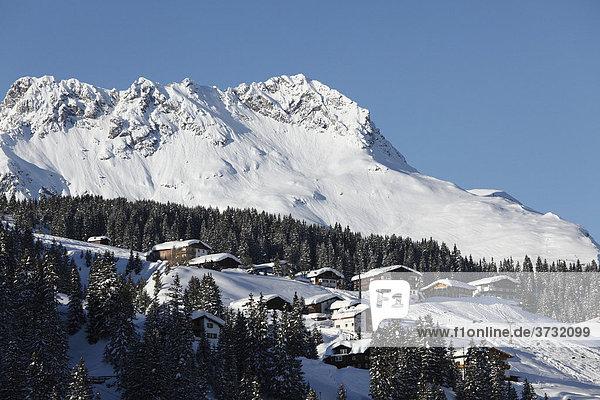 Karhorn  Oberlech  Lech  Vorarlberg  Österreich