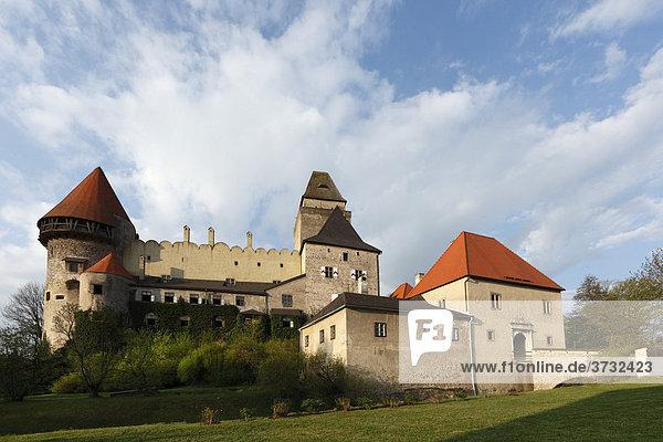 Wasserburg Heidenreichstein  Waldviertel  Niederösterreich  Österreich  Europa