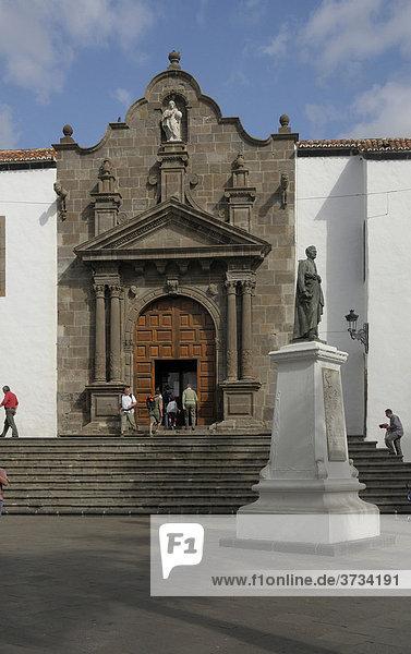 Kirche Iglesia de El Salvador  Santa Cruz de la Palma  La Palma  Kanarische Inseln  Spanien