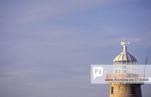 Lighthouse in Howth Harbour  near Dublin  Ireland
