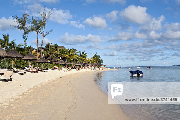 Strand bei Bel Ombre  Mauritius