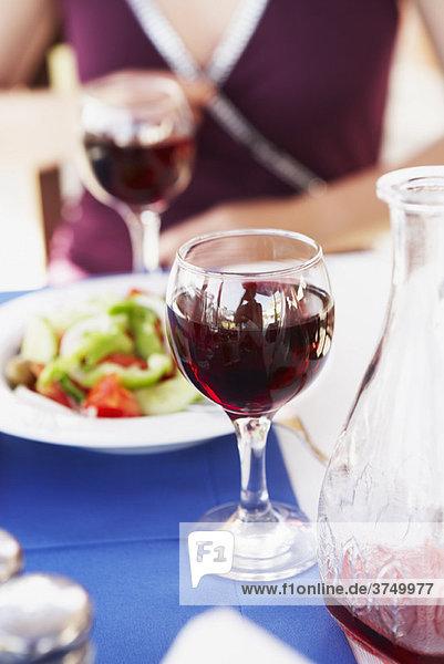 Rotwein aus der Nähe