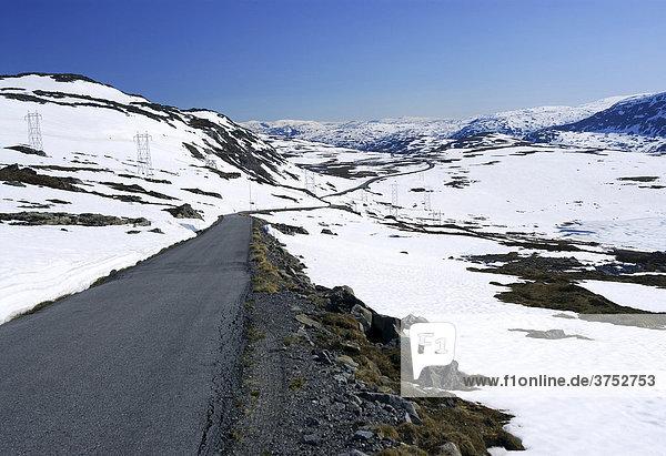 Sognefjellstraße Gamle Sognefjesvegen Sogn og Fjordane  Norwegen