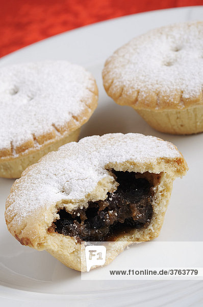 Mince Pies  Traditional Christmas Food.