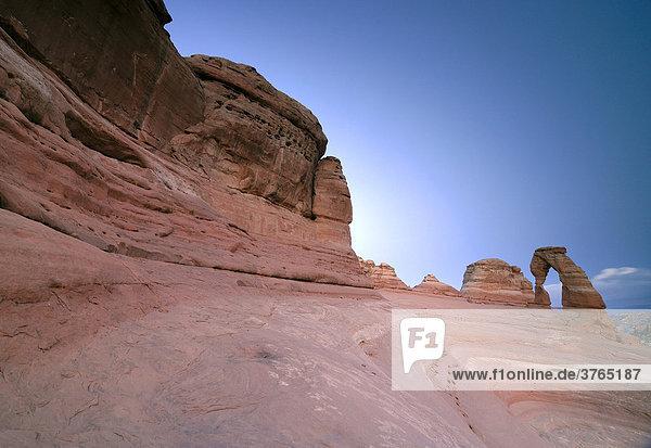 Delicate Arch  Canyonlands Nationalpark  Utah  USA