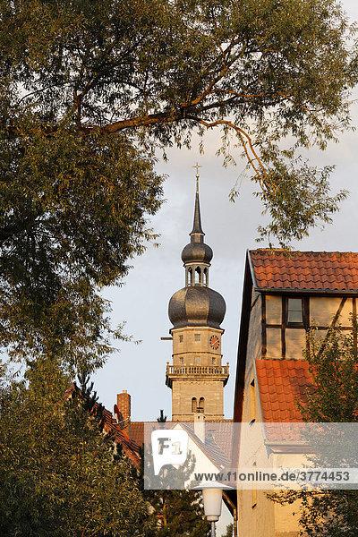 Mellrichstadt  Rhoen-Grabfeld  Franconia  Bavaria  Germany