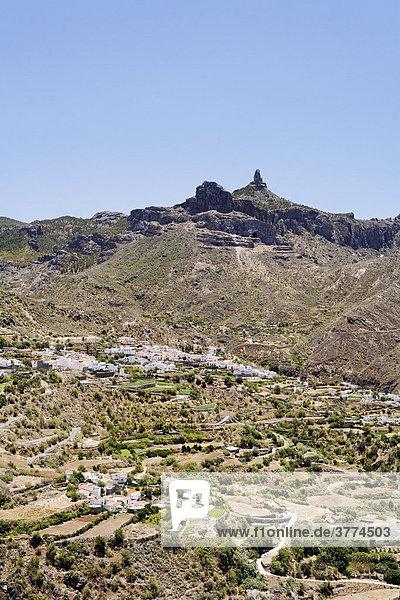 Tejeda  Roque Nublo  Gran Canaria  Spain