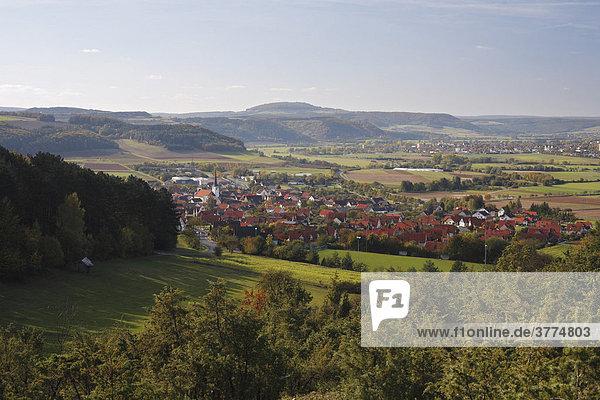 Fuchsstadt  Rhön  Unterfranken  Bayern  Deutschland