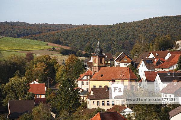 Windheim,  Rhoen,  Franconia,  Bavaria,  Germany