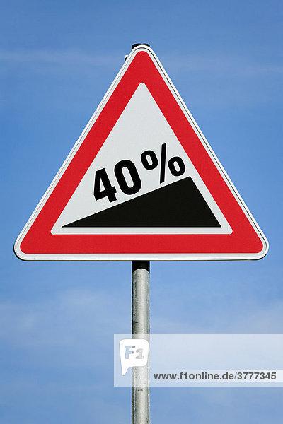 40 % profit tax dividend gain increase gradient - symbolic picture - series