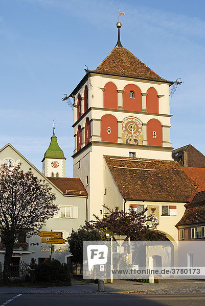 Wangen Baden-Württemberg Deutschland St. Martinstor