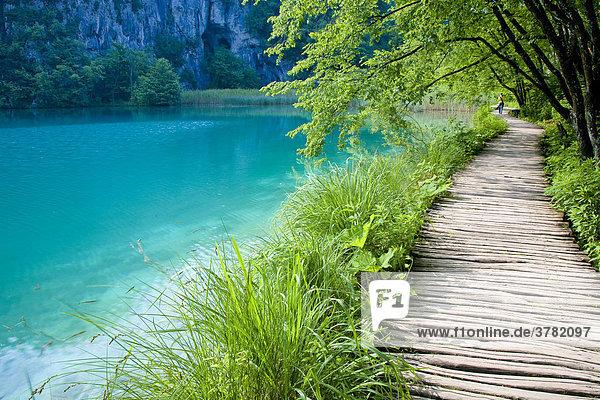 Nationalpark Plitvicer Seen  Lika-Senj  Kroatien