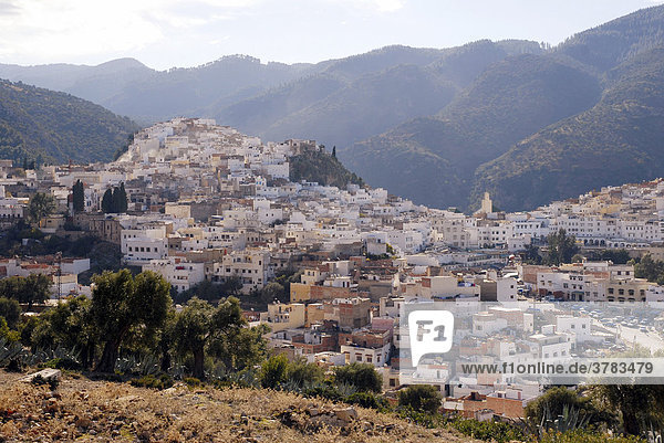 Moulay Idriss  holy town in Morocco  Africa