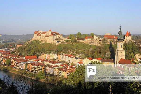 Burghausen  Oberbayern  Deutschland
