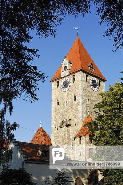 Ostentor  Regensburg  Oberpfalz  Bayern