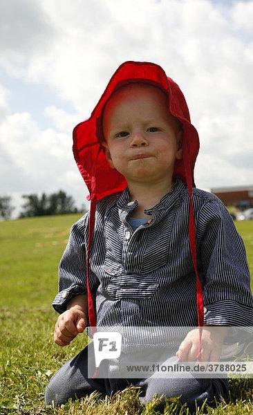 Porträt  einjähriger Junge