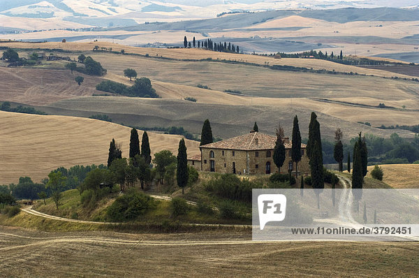 Cottage Belvedere  Val d'Orcia  Tuscany  Italy