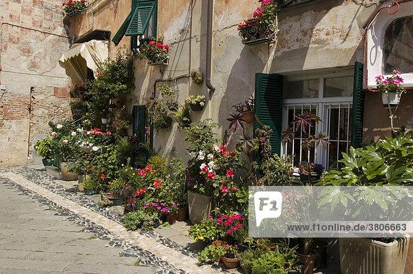 Borgo Ligure near Finale Ligure Riviera di Ponente Liguria Italy