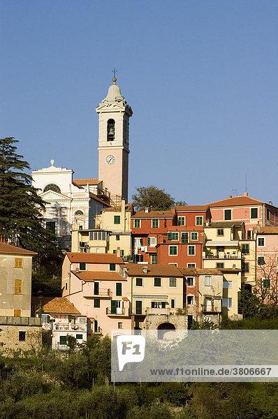 Castiglione Chiavarese near Sestri Levante Liguria Italy