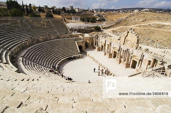 Jordan Jerash Gerasa amphitheater