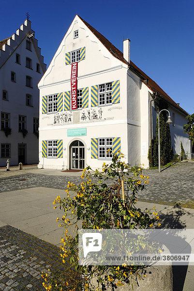Biberach an der Riss Baden-Württemberg Deutschland Komödienhaus erbaut um 1516