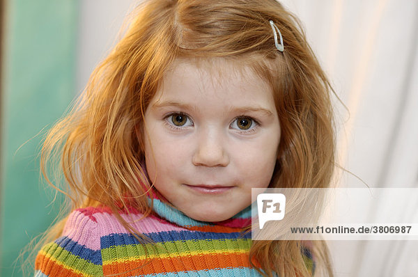 Portraet of a girl 4 years old