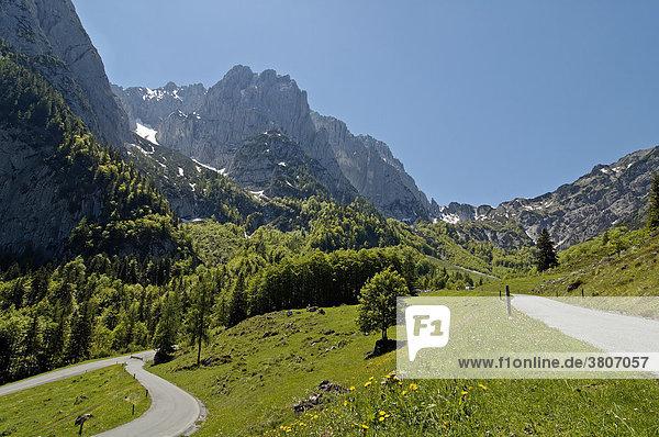 Kaisertal am Wilden Kaiser Kaisergebirge Tirol Österreich