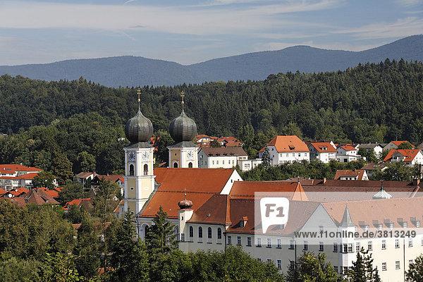 Kloster Metten  Bayerischer Wald  Niederbayern  Deutschland
