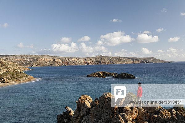 Küste bei Vai  Ostkreta  Kreta  Griechenland