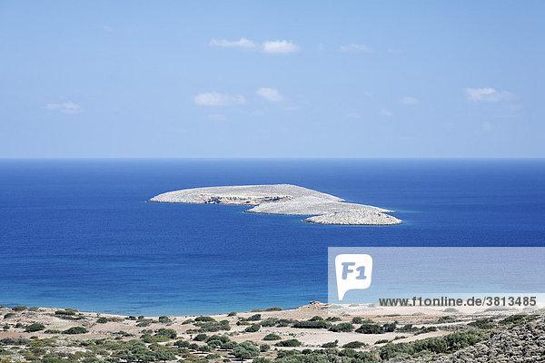 Insel Grandes bei Palekastro  Ostkreta  Kreta  Griechenland