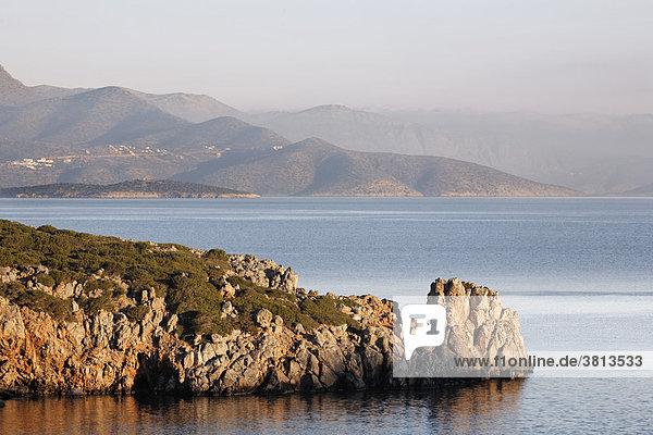 Golf von Mirabello (Mirambello)  Ostkreta  Kreta  Griechenland