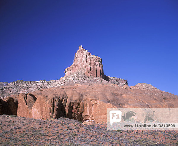 Cave Point  Grand Staircase-Escalante National Monument  Utah  USA