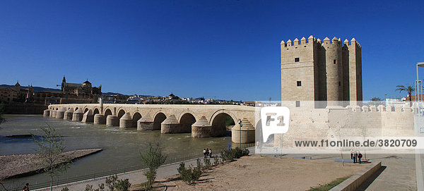 Spain  Andalusia  Cordoba  Roman Bridge
