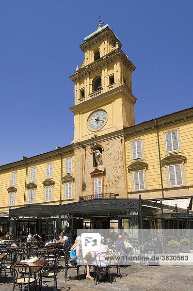 Parma Emilia Romagna Italy Piazza Garibaldi Palazzo del Governatore