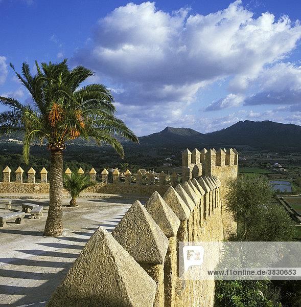 Arta Majorca Spain church castle